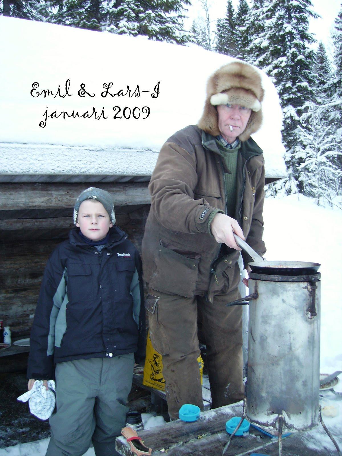 Emil och Lars-Ivan jan 2009