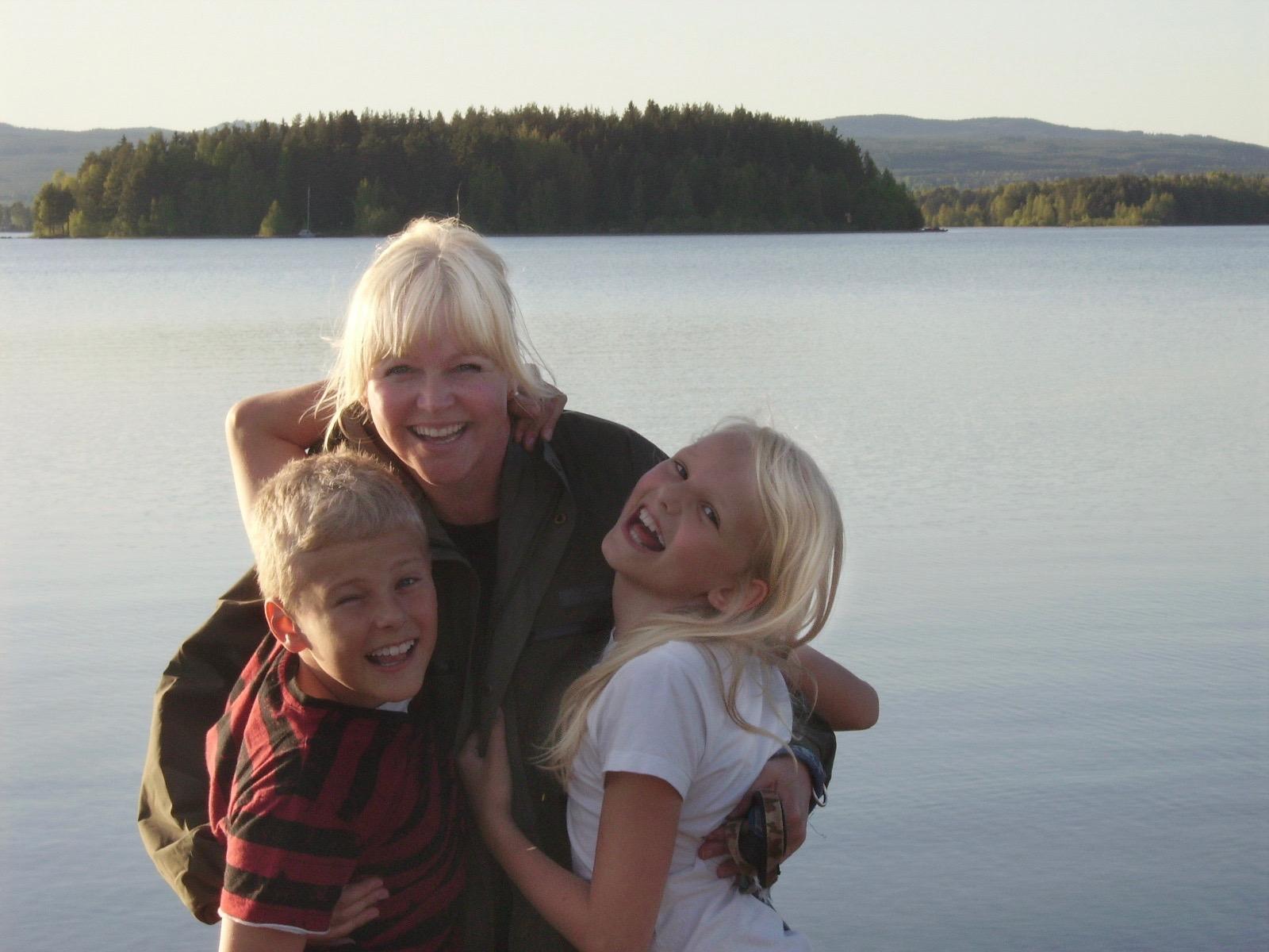 Emil Pernilla och Emma Öberg 2009