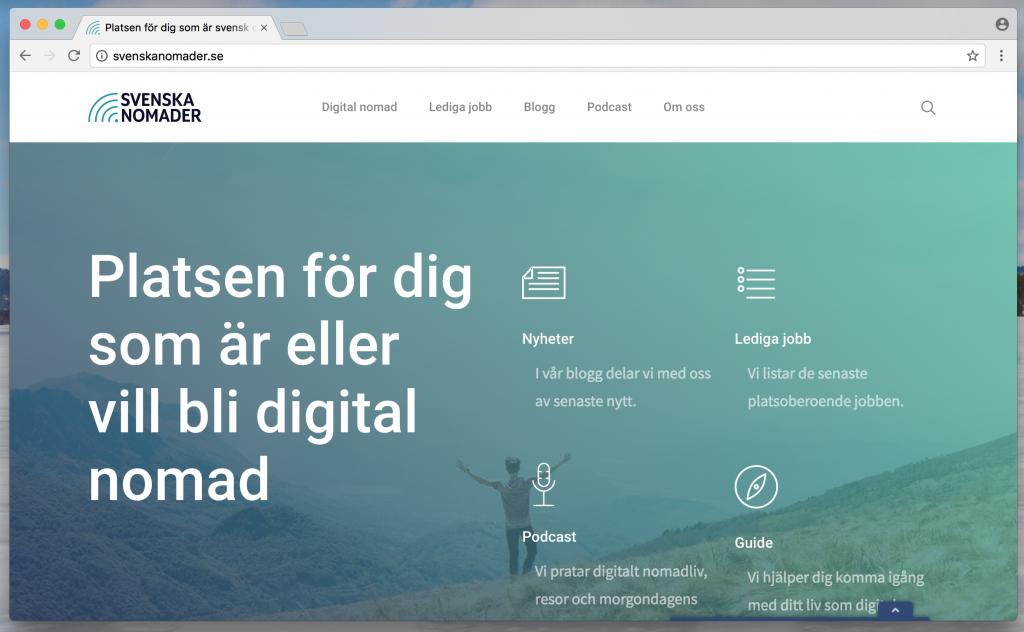 Svenska Nomader www.svenskanomader.se