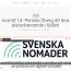 Jag är med i Svenska Nomaders Podcast nr 14 om att arbeta platsoberoende i fjällen